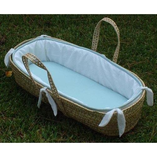 Alex Moses Basket with Custom Bedding-Moses Basket-Default-Jack and Jill Boutique