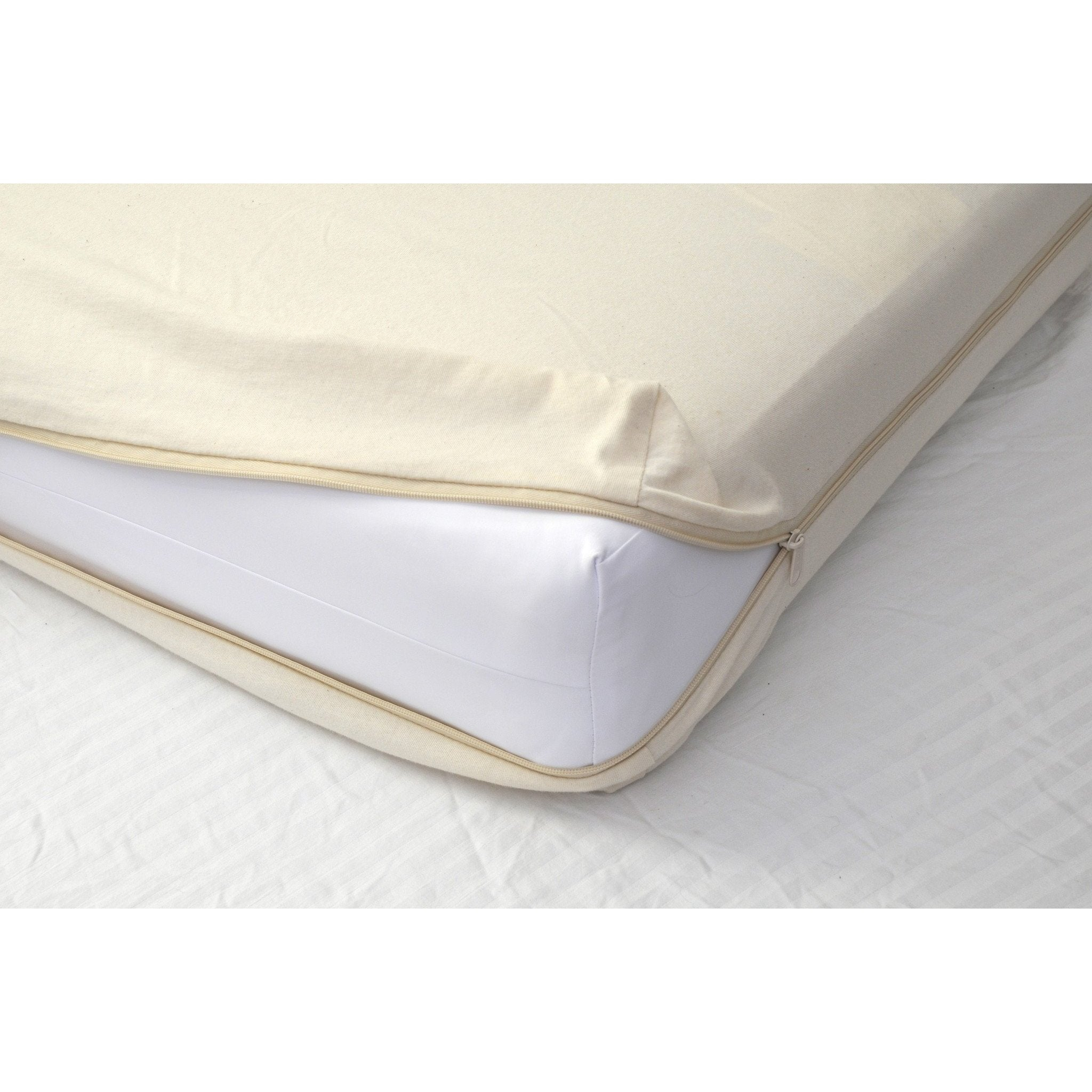 All in One Organic Cotton Crib Mattress Coverlet-Crib Mattress-Jack and Jill Boutique