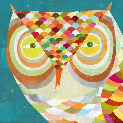 All Seeing Owl | Canvas Wall Art-Canvas Wall Art-Jack and Jill Boutique