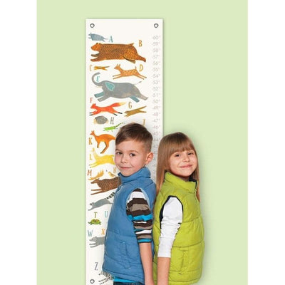 Animal Alphabet Growth Charts-Growth Charts-Default-Jack and Jill Boutique