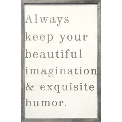 Always Keep Your Beautiful Art Print-Art Print-Default-Jack and Jill Boutique