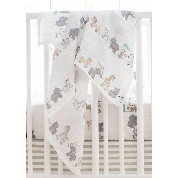 Animal Parade Crib Baby Bedding Set