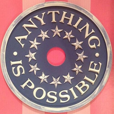 Anything Is Possible Ceiling Medallions-for-kids-nursery-Jack and Jill Boutique