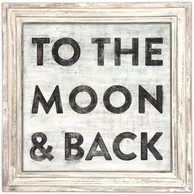 ART PRINT - To the Moon and Back