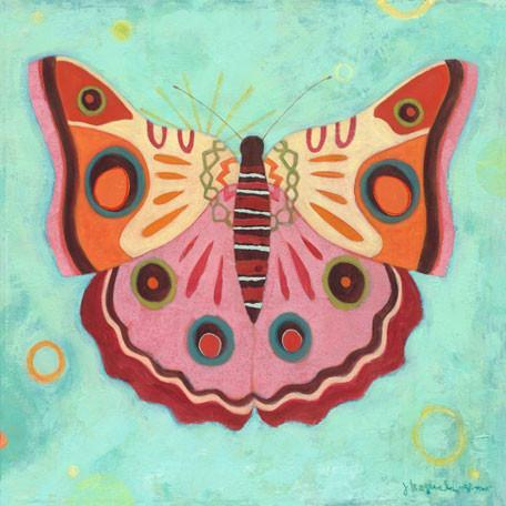 Aqua Peace Butterfly Canvas Wall Art Jack And Jill Boutique