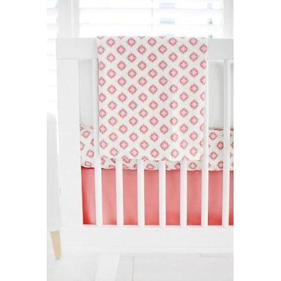 Aztec Baby in Coral Baby Bedding Set-Crib Bedding Set-Default-Jack and Jill Boutique