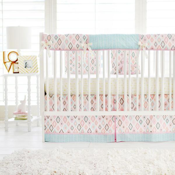 Aztec Flight Arrow Baby Bedding Set-Crib Bedding Set-Jack and Jill Boutique