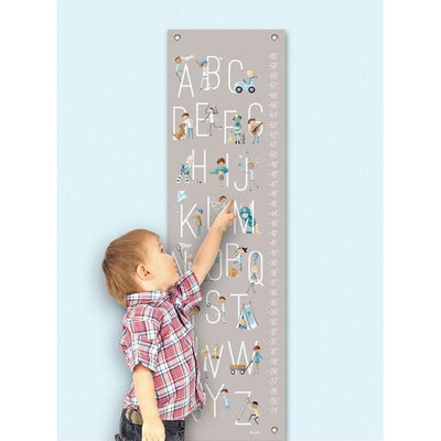 B is for Boys Growth Charts-Growth Charts-Default-Jack and Jill Boutique