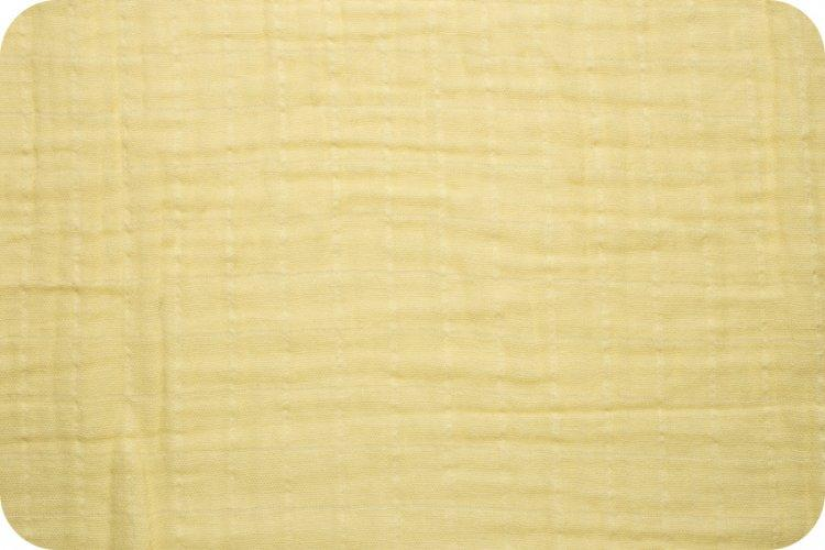 Solid Embrace Banana | Double Gauze Cotton-Fabric-Jack and Jill Boutique