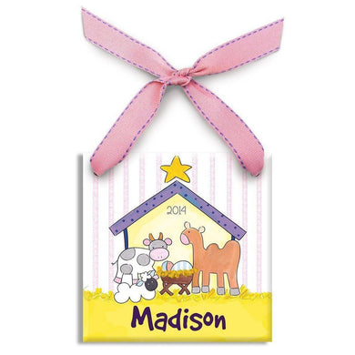Baby Jesus Ornament (Girl)
