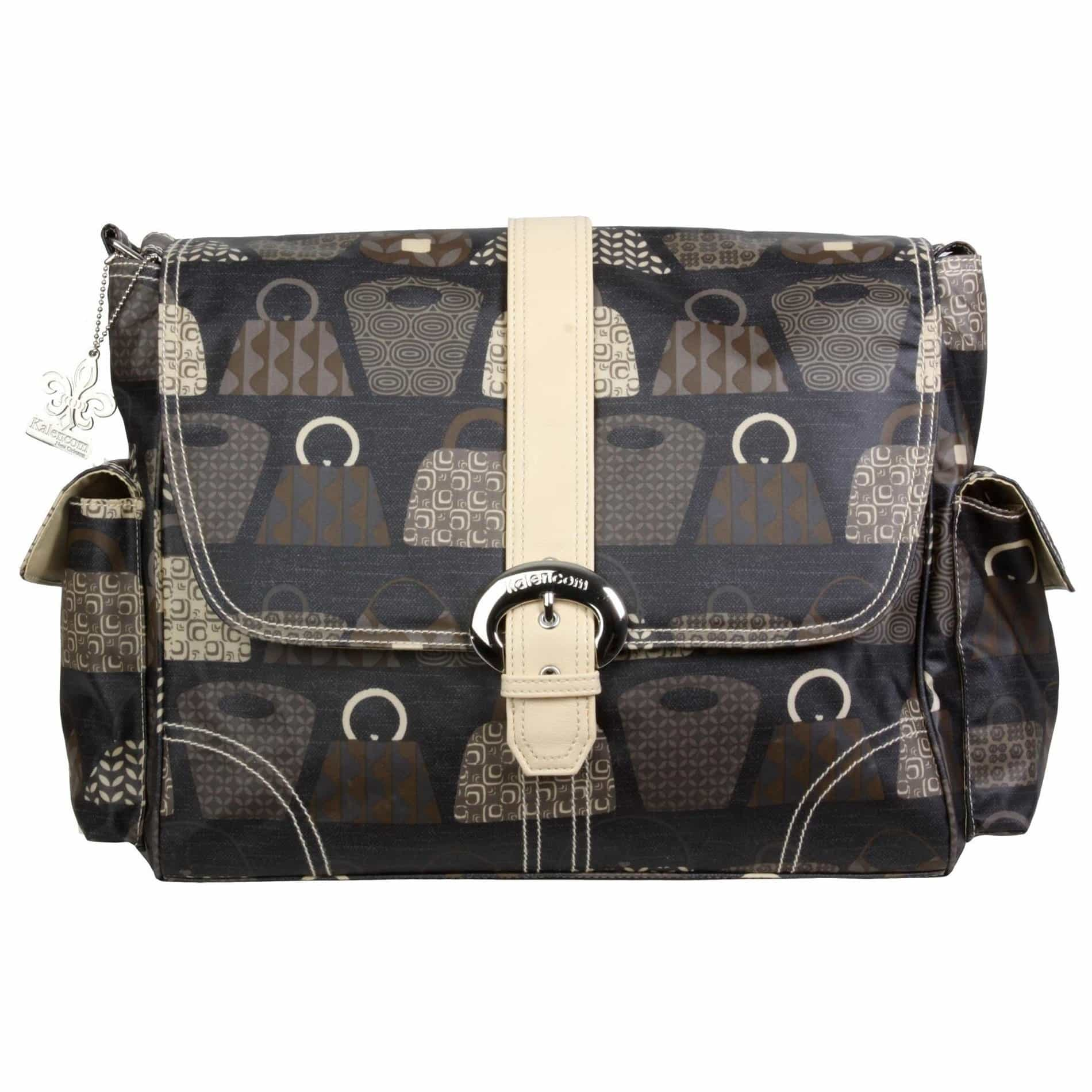 Bag Lady - Stone Matte Coated Buckle Diaper Bag | Style 2960 - Kalencom-Diaper Bags-Jack and Jill Boutique
