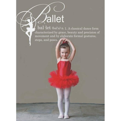 Ballet Definition Vinyl Wall Decal-Decals-Jack and Jill Boutique
