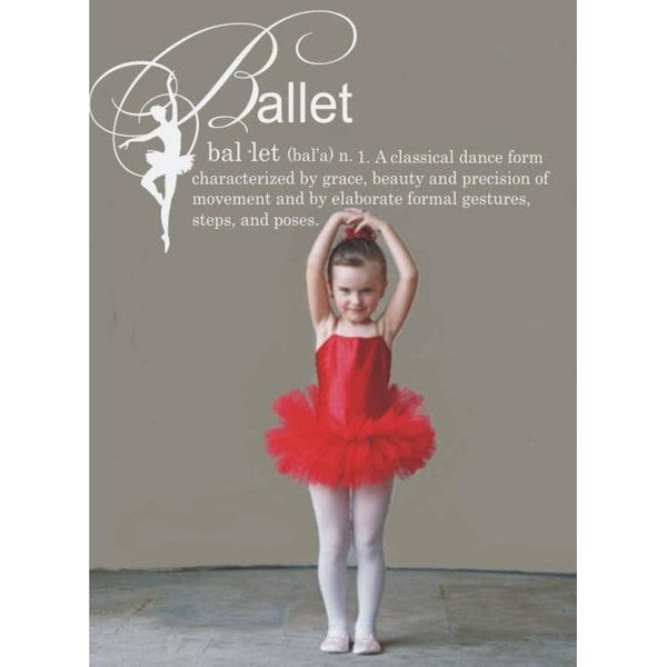 Ballet Definition Vinyl Wall Decal Jack And Jill Boutique