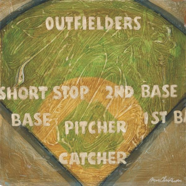 Baseball Field Positions | America's Favorite Pastime Collection | Canvas Art Prints-Canvas Wall Art-Jack and Jill Boutique