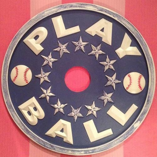 Baseball Play Ball Ceiling Medallions-Medallions-Default-Jack and Jill Boutique
