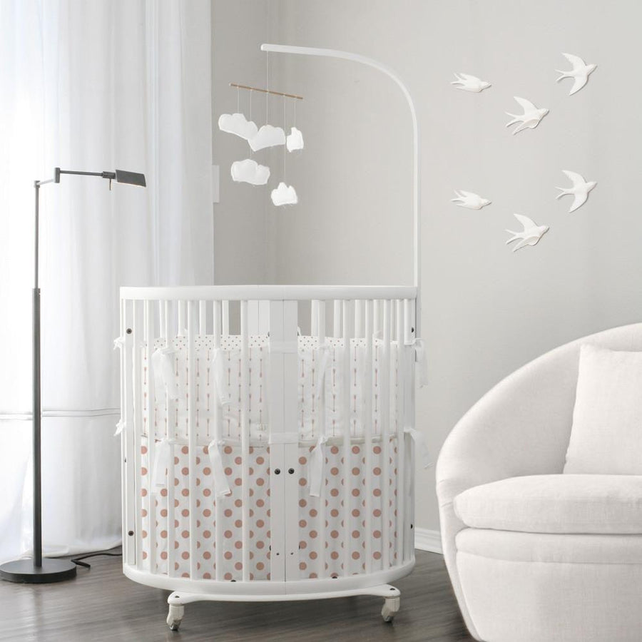 Bassinet Baby Bedding | Stokke Mini Rose Gold Bedding