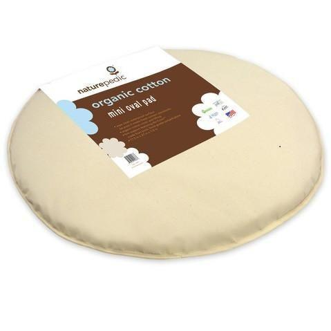 Bassinet Pad Oval (fits Stokke® Sleepi™ Mini - 23 x 29 x 1)-Bassinet Mattress-Default-Jack and Jill Boutique