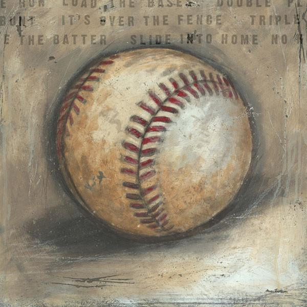Be the Ball Baseball | Sports Art Collection | Canvas Art Prints-Canvas Wall Art-Jack and Jill Boutique