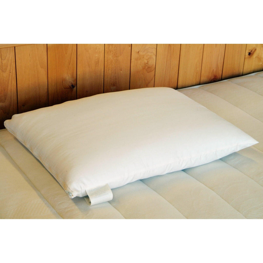 Bed Pillow- Wool Wrapped Latex | Holy Lamb Organics-Pillow-Jack and Jill Boutique