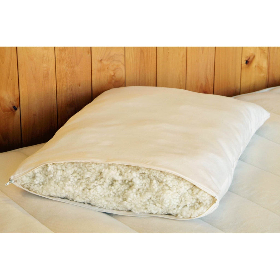 "Bed Pillow- Woolly ""Down"" 