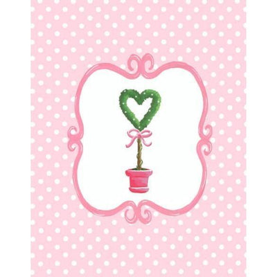 Bella Heart Topiary | Canvas Wall Art-Canvas Wall Art-Jack and Jill Boutique