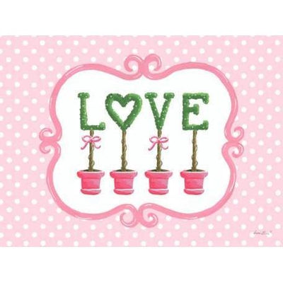 Bella Love Topiary | Canvas Wall Art-Canvas Wall Art-Jack and Jill Boutique