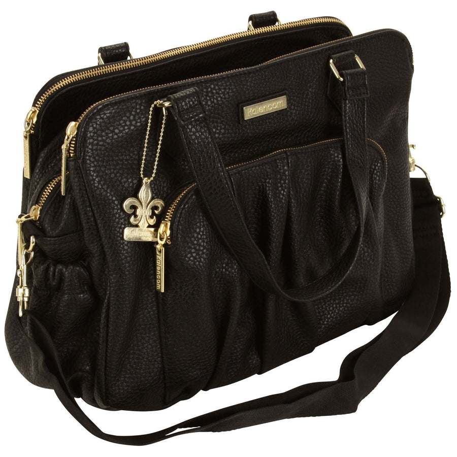 Berlin - Black Diaper Bag | Style 2996 - Kalencom