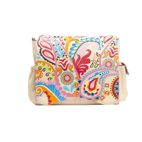 Berry Paisley Kalencom Jazz Collection Diaper Bag Style