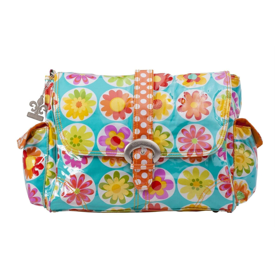 Big Daisy Laminated Buckle Diaper Bag | Style 2960 - Kalencom-Diaper Bags-Default-Jack and Jill Boutique