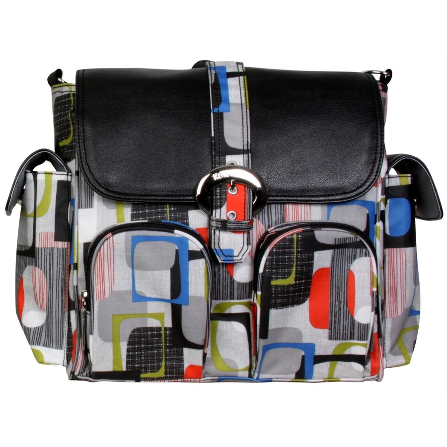 Bingo Matte Coated Double Duty Diaper Bag | Style 2991 - Kalencom-Diaper Bags-Default-Jack and Jill Boutique
