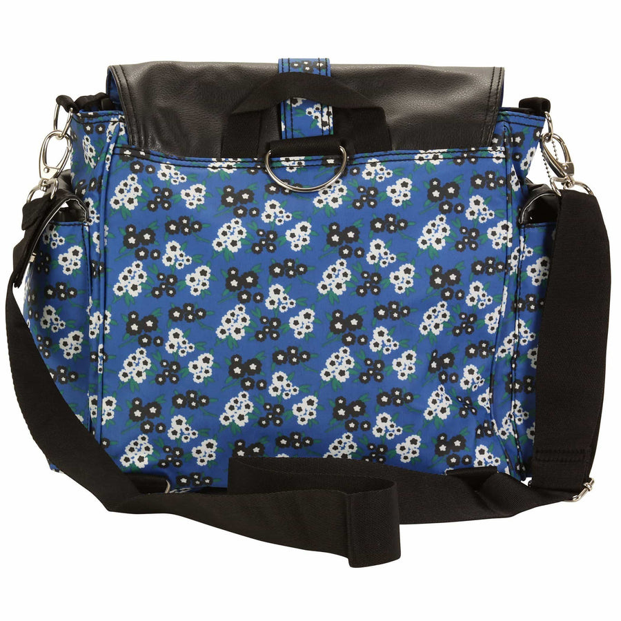 Bingo Matte Coated Fantasia Floral Double Duty Diaper Bag | Style 2991 - Kalencom-Diaper Bags-Default-Jack and Jill Boutique