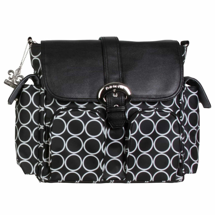 Black Holes Matte Coated Double Duty Diaper Bag | Style 2991 - Kalencom-Diaper Bags-Default-Jack and Jill Boutique