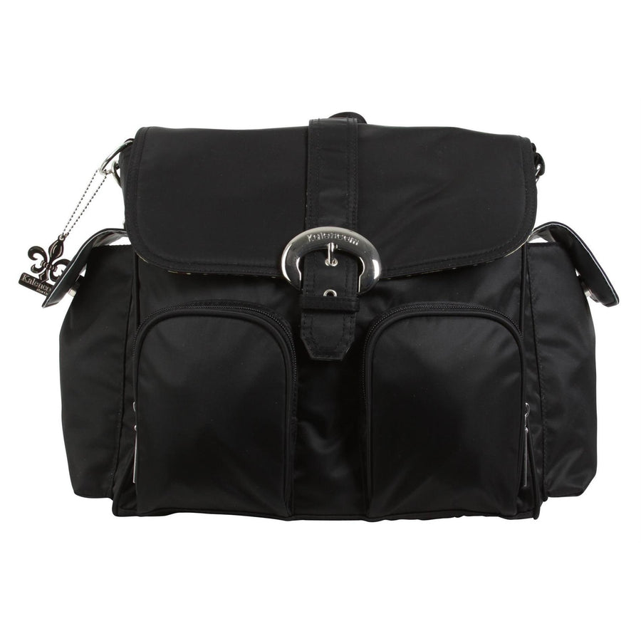 Black Nylon Double Duty Diaper Bag | Style 2991 - Kalencom-Diaper Bags-Default-Jack and Jill Boutique