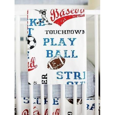 Blanket | All Star Vintage Sports-Baby Blanket-Jack and Jill Boutique