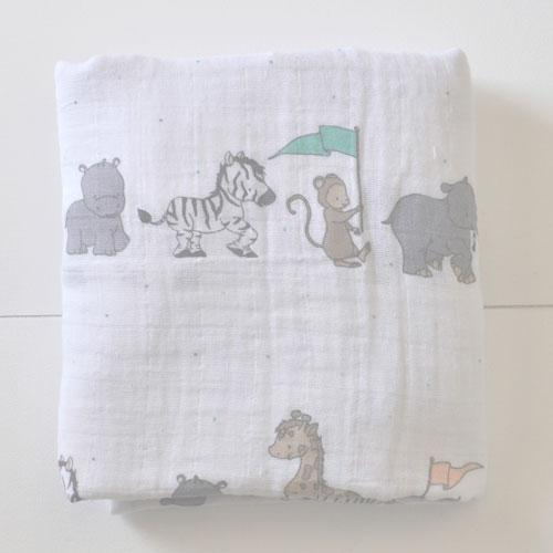 Blanket | Animal Parade Crib Baby Bedding Set