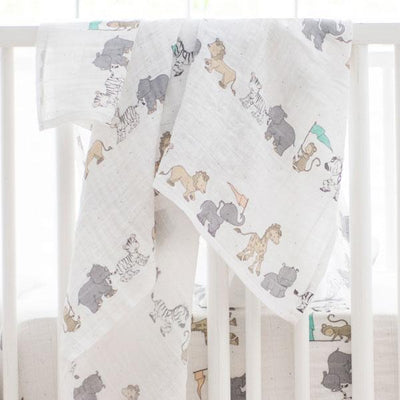 Blanket | Animal Parade Crib Baby Bedding Set-Baby Blanket-Default-Jack and Jill Boutique