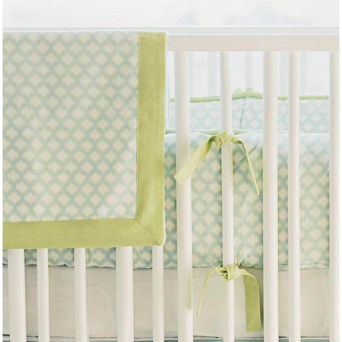 Baby Blanket-Jack and Jill Boutique-Blanket | Aqua & Green Sprout