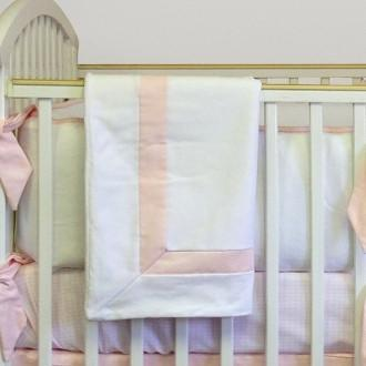 Blanket | Ava Luxury Baby Bedding Set-Baby Blanket-Bebe Chic-Jack and Jill Boutique