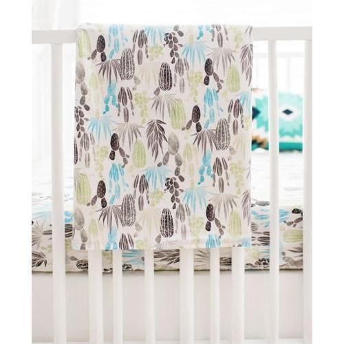 Blanket | Cactus Desert Dawn in Earth Baby Bedding Set-Baby Blanket-Jack and Jill Boutique