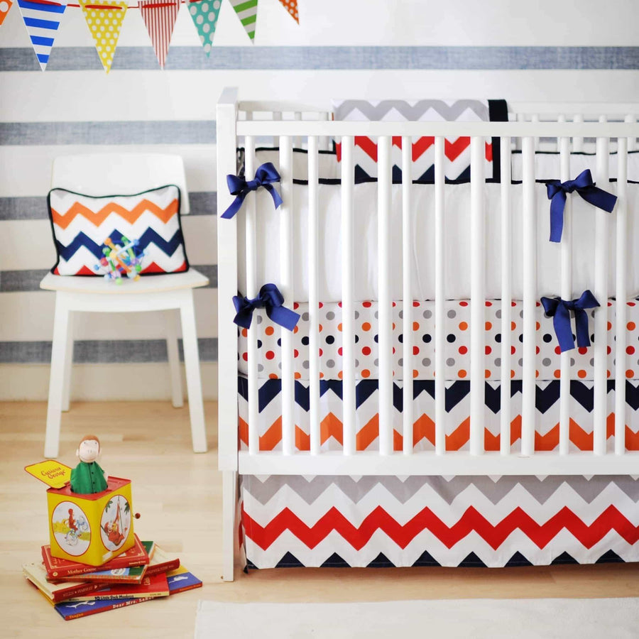 Blanket | Chevron Zig Zag Baby In Rugby-Baby Blanket-Jack and Jill Boutique