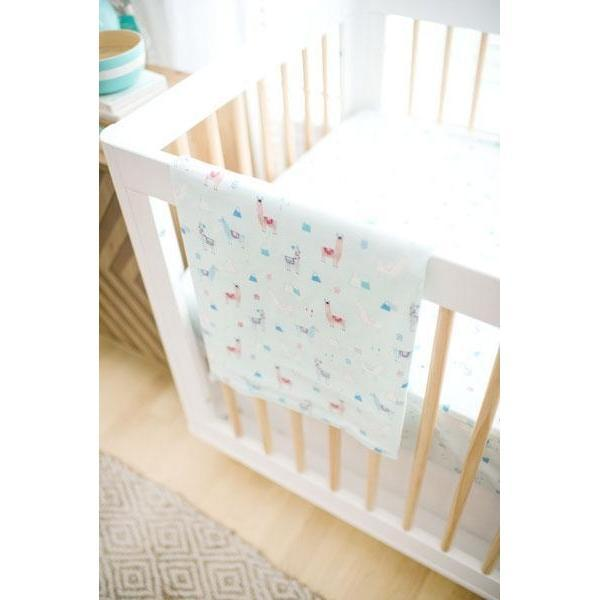 Baby Blanket-Jack and Jill Boutique-Blanket | Drama Llama Crib Baby Bedding Set