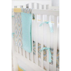 Baby Blanket-Jack and Jill Boutique-Blanket | Dreamweaver Yellow and Aqua
