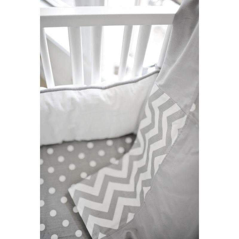 Baby Blanket-Jack and Jill Boutique-Blanket | Gray Chevron Zig Zag Baby