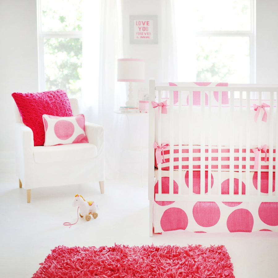 Blanket | Hot Pink Spot On Fuchsia-Baby Blanket-Jack and Jill Boutique