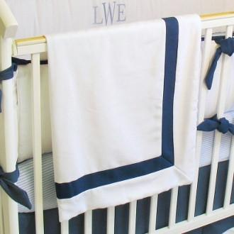 Blanket | Luke Luxury Baby Bedding Set-Baby Blanket-Bebe Chic-Jack and Jill Boutique
