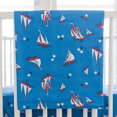 Blanket | Nautical Harbor-Baby Blanket-Jack and Jill Boutique