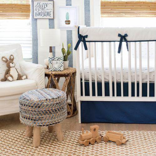 Blanket | Navy Arrow-Baby Blanket-Jack and Jill Boutique