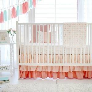 Blanket | Peach Once Upon a Time-Baby Blanket-Jack and Jill Boutique