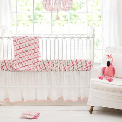 Blanket | Pink Urban Flamingo Baby Bedding Set-Baby Blanket-Jack and Jill Boutique