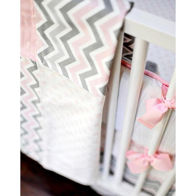 Blanket | Sophie Pink and Khaki-Baby Blanket-Jack and Jill Boutique
